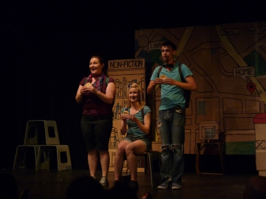 From left: Kate Kudelka, Shannon Currie, Ben Ross