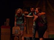 From left: Shannon Currie, Ben Ross, Kate Kudelka
