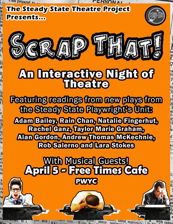 Upcoming Event: SCRAP THAT!